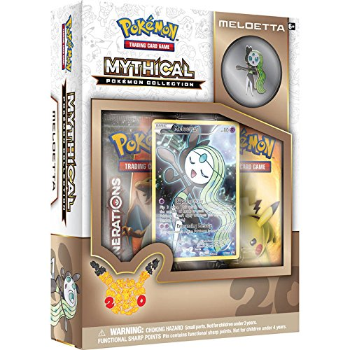 Pokémon Meloetta Mythical Cards Collection Box englisch