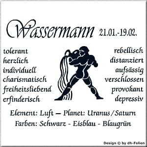 wall-refine WS-00766 | STERNZEICHEN WASSERMANN | Premium