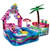 Girls' Lite Brix LiteUp Pool Party Playset