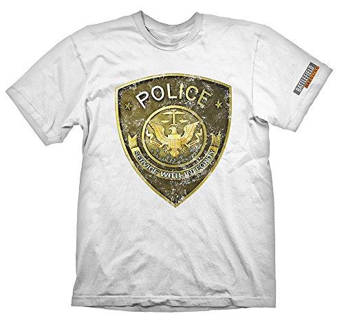 Battlefield Hardline Maglietta Maglia T Shirt Police Size M Gaya Entertainment