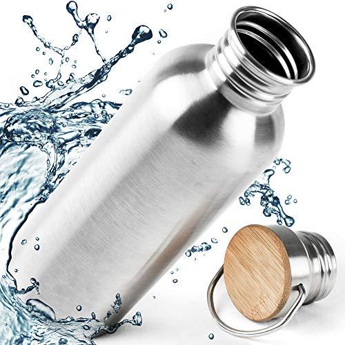 Pure Design Borraccia Acciaio Inox 0.75 l per Bambini. Buono per Ufficio e Sport, BPA Free