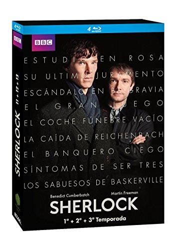 Sherlock - Edición 1, 2 Y 3 [Blu-ray]