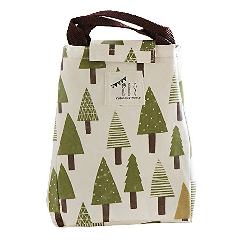 Rieovo pranzo portatile termica di raffreddamento, contenitori per alimenti isolato Carry Bag viaggi picnic borsa little tree