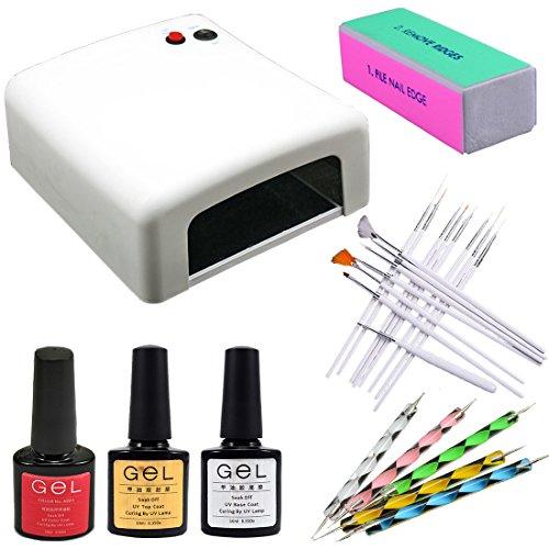 Professional 36W Gel UV Blanc Lampe Sèche Nail Art