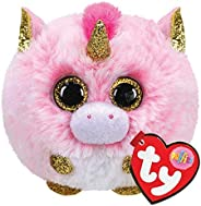 TY UK Ltd- Fantasia Unicorn Puffies Peluche, Multicolor, 7 cm (42508)