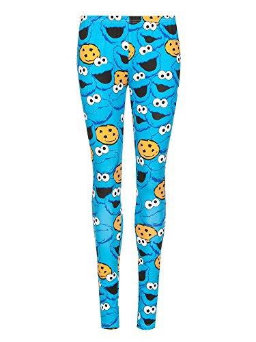 sesame-street-cookie-monster-leggings-royalblau-s