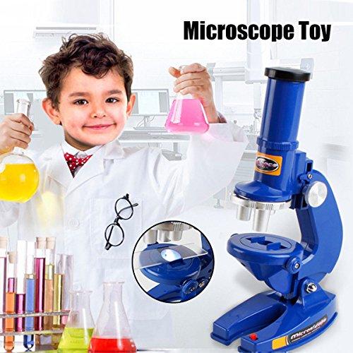 Alcoa Prime 100X 200X 450X Magnification Student Kids Mini Learning Microscope Illuminated