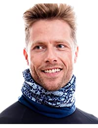 Hilltop Polar Multifunktionstuch Cooles Design in aktuellen Trendfarben mit Fleece