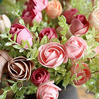 XdiseD9Xsmao 1 Pieza Realista Flor De Camelia Artificial Vívida Flor De Jardín Hogar Etapas De Boda Fiesta Oficinas Decoración Ornamento