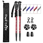 TheFitLife Hiking Walking Trekking Poles - 2 Pack With Antishock And Quick Lock System, Telescopic, Collapsible… 6