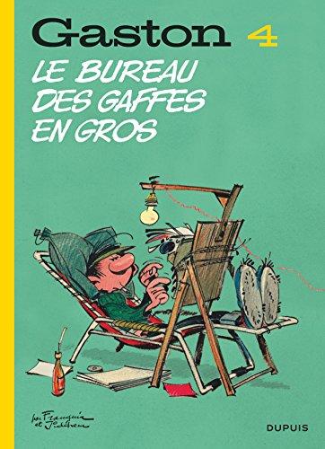 Gaston (Edition 2018) - tome 4 - Le bureau des gaffes en gros (Edition 2018)