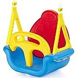 Mitwachsende Schaukel mit abnehmbarer Rückenlehne und Sicherheitsbügel wetterbeständig • Babyschaukel Schaukelsitz Gartenschaukel Kinderschaukel Gartenspielzeug