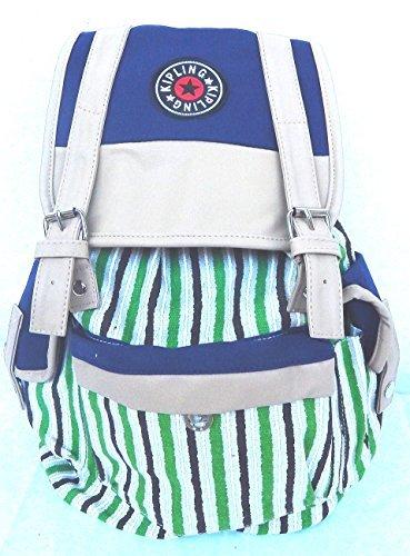 Tinas Collection Rucksack für die Schule, in Streifenoptik, 50 x 40 cm
