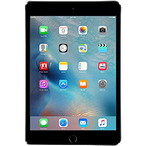 Apple iPad mini 4 64GB 3G 4G Gris - Tablet (Minitableta, IEEE 802.11ac, iOS, Pizarra, iOS, Gris)