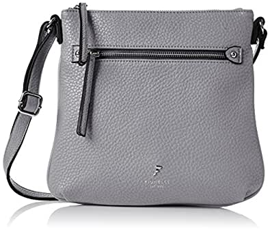 Fiorelli Womens Phoebe Cross-Body Bag Grey (Grey Casual)