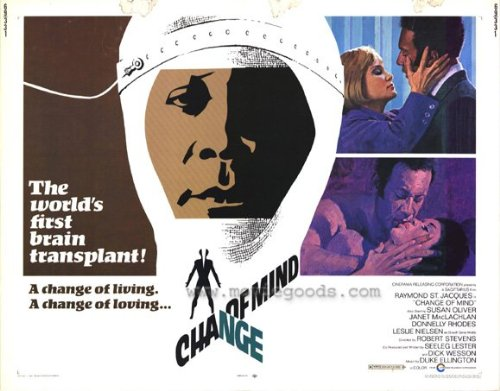 Change of Mind Plakat Movie Poster (11 x 14 Inches - 28cm x 36cm) (1969)