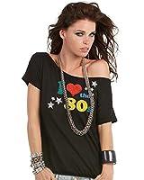 I love Die 80's Glitter T-Shirt