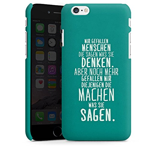 Apple iPhone SE Silikon Hülle Case Schutzhülle Sprüche Statement Spruch Premium Case matt