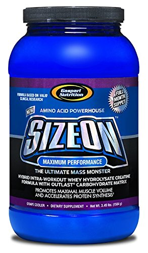 gaspari Nutrition SizeOn - Max Performance - 1.584 kg (Grape Cooler)  available at amazon for Rs.8069