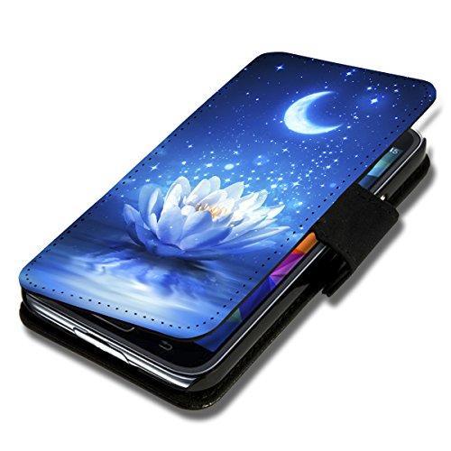 sw-mobile-shop Book Style Flip Handy Tasche Case Schutz Hülle Schale Motiv Etui für LG L Bello - Flip A42 Design7
