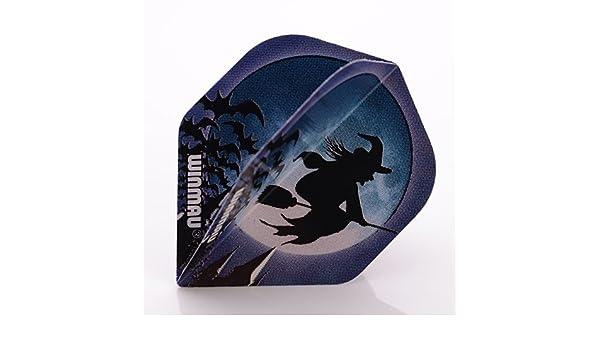 Mega Standard Witch Hexe Dart Flights Winmau NEU