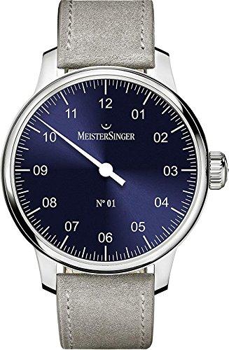 MeisterSinger No 01 Elegante orologio da uomo Design senza tempo