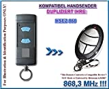 Kompatibel mit HSE2 868,3MHz Handsender, Ersatz, Klone,TOP Qualität clone remote, ( NOT MADE BY HÖRMANN )