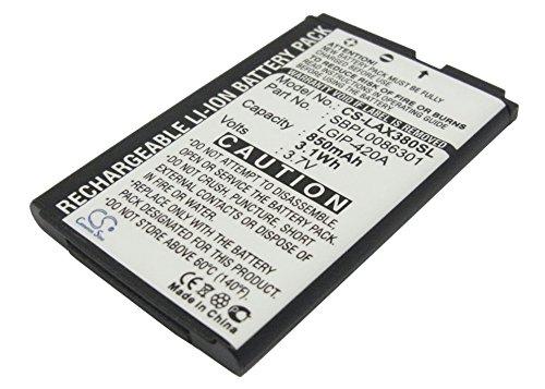 techgicoo 850mAh Akku kompatibel mit LG AX275, AX380, Wave, UX380, AX271, UX370 Lg Ax275 Ax380 Wave