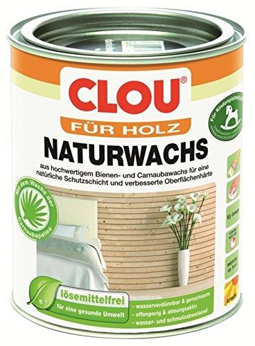 Format 4007141347458 Clou Naturholz Möbelwachs für den Innenbereich - 0,75L