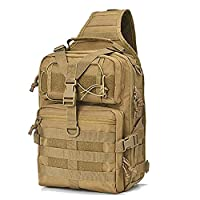 TLBAG Tactical Sling Backpack, Outdoor Military Small Rover Chest Shoulder Pack Women Men Development Range Bag for Hiking Camping Trekking