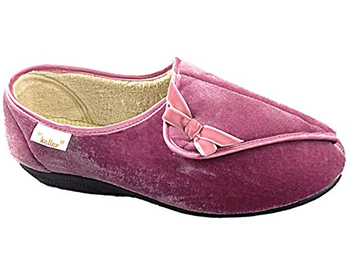 Cosies , Chaussons pour fille Rose - Rose Pink