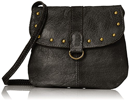 PIECES - Pcnadeen Leather Cross Body, Borse a tracolla Donna Nero (Black)