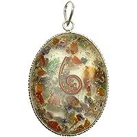 Harmonize Spirituelle Geschenk Oval Form Anhänger Reiki Kristall Chakra Symbol Multistone preisvergleich bei billige-tabletten.eu