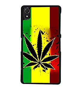 printtech Love Weed Back Case Cover for Sony Xperia Z2 , Sony Xperia Z2 L50W D6502 D6503