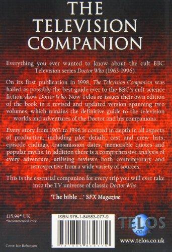 The Television Companion (Dr Who Telos 2)