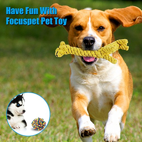 Dog-Toys-Focuspet-Puppy-Toys-Braided-Rope-Dog-Chew-Toys-Puppy-Chew-Durable-Interactive-Cotton-Toys-Dental-Health-Teeth-Cleaning-for-SmallMedium-sized-Dog-Biting-Toys-5-Pack