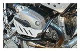 MotorbikeComponents, Paracilindri-paramotore tubolare in ferro verniciato Nero - BMW R 1200 Gs / Adventure 2010