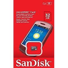SanDisk 32 GB Micro SD Classe 4 scheda di memoria