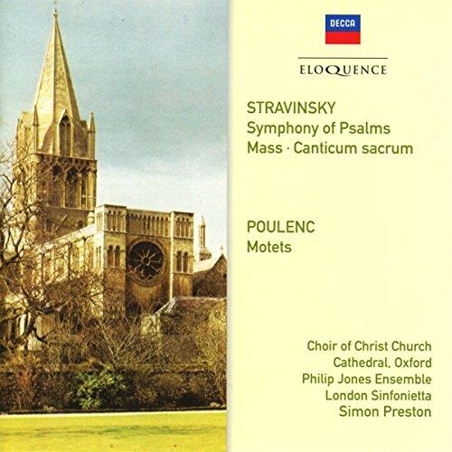Symphony of Psalms/Mass/4 Motets pour un Temps de Penitence