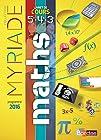 Maths cycle 4 - Livret de cours 5e 4e 3e - Nouveau programme 2016