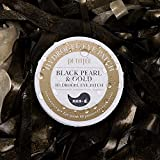 PETITfÉE BLACK PEARL & GOLD HYDROGEL EYE PATCH for Dark Circles, Puffy Eyes and Wrinkle. Pack of 60 Pieces (30 pairs)