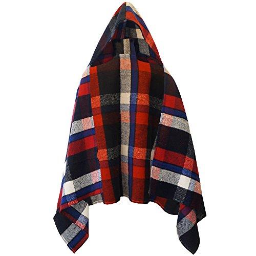 womens-ladies-knitted-hooded-check-tartan-block-cape-poncho-wrap-shawl-cardigan