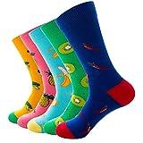 Bakicey Damen Socken Mädchen Weihnachtsstrümpfe Stricken Socken Strümpfe Baumwolle Nette Cartoon Gemustert Mädchensocken - Elastisch Sport Socken Füßlinge Kurzsocken Damensocken (Weihnachten C)