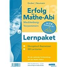 Lernpaket Erfolg im Mathe-Abi 2013 Mecklenburg-Vorpommern: Übungsbuch Basiswissen, 200 Lernkarten für die optimale Vorbereitung auf das Mathe-Abitur