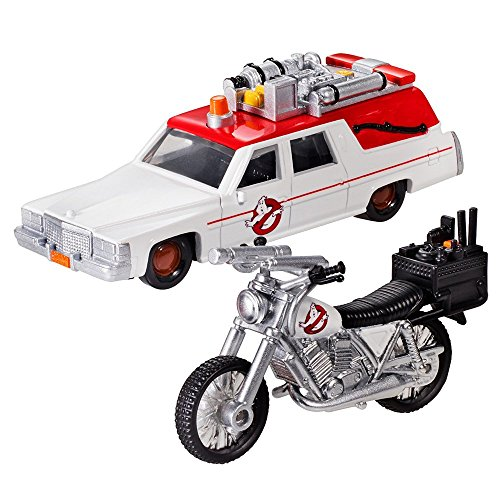 Hot wheels Ghostbusters (2016) between 1 and between 2 (2 Pack) 1 / 64 scale die-cast painted miniature