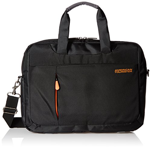 American Tourister Activair Polyester 13 Ltrs Black Laptop Bag (56T (0) 09 008)