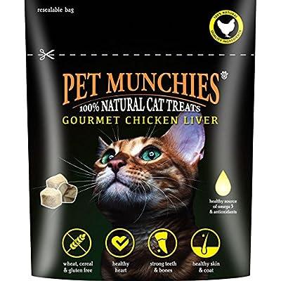 Pet Munchies Chicken Liver Cat Treats, 10 g