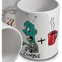 Zombie taza, regalo para fans de zombies