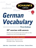 Schaum's Outline of German Vocabulary (Schaum's Outlines)