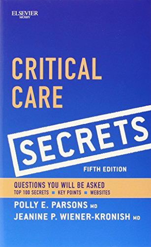 Critical Care Secrets, 5e